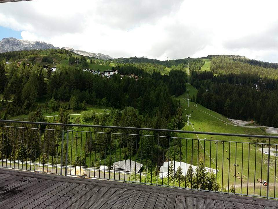 Sonnenalpe apartments Nassfeld - view from terrace