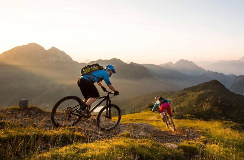 Sonnenalpe apartments Nassfeld - Mountain biking in Nassfeld