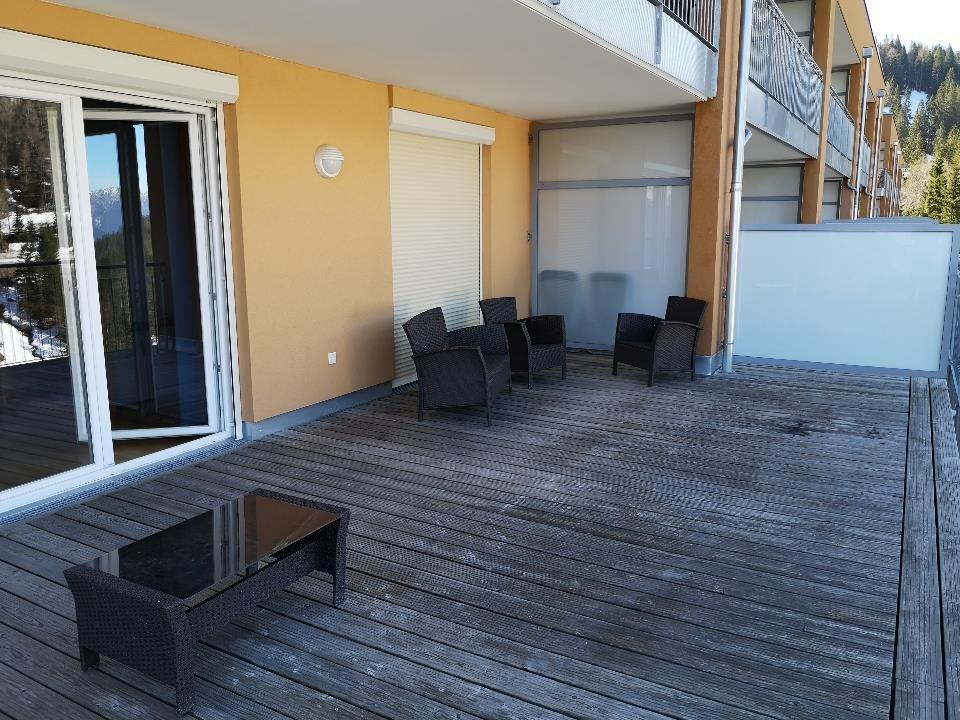 Sonnenalpe apartments Nassfeld - Terrace
